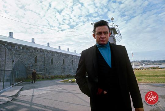 Cash at Folsom Prison (1968) (c) Jim Marshall