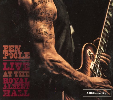 Ben Poole Live at the Royal Albert Hall - coiver